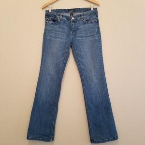 WHBM Boot Leg Medium Wash Jeans Size 6S